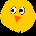 Küken gezeichnet Hühnereier ausbrüten